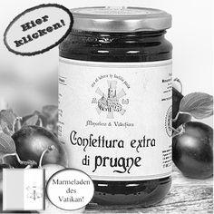 Himmlisch süße Pflaumenkonfitüre! Hier klicken: http://blogde.rohinie.com/2013/01/honig/ #Vatikan #Konfituere #Marmelade #Pflaume