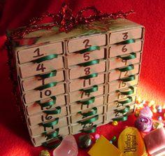 Matchbox Advent calendar - easy gift idea.