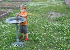 Community gardening is a great family activity!