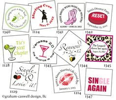 divorce party ideas tags