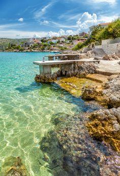 Rogoznica, Croatia #croatia #ocean #beaches