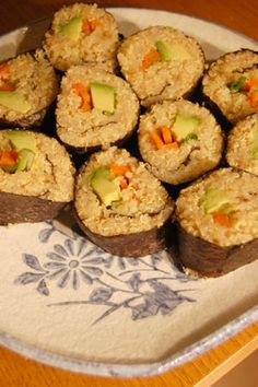 Soy-free and Rice-Free Challenge: Gluten-free Quinoa Vegetarian Sushi Recipe with no-soy sauce