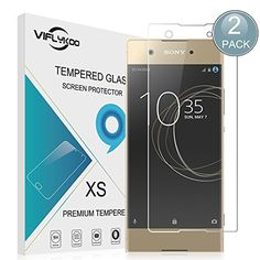 awesome VIFLYKOO Sony Xperia XA1 Protector de Pantalla,  Sony Xperia XA1 Cristal Templado 9H Dureza Sony Xperia XA1 Vidrio Templado Flim Protection para Sony Xperia XA1 Smartphone Tempered Glass Screen Protector