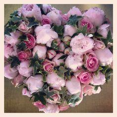 Bouquet de pivoines et roses