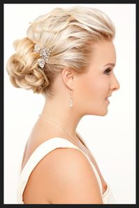 I'm wearing my hair like this for my sister's wedding! :)