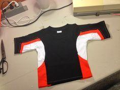 how to make Eli Shane's shirt costume (from Slugtera).