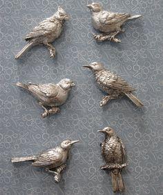 Bird Magnet Set