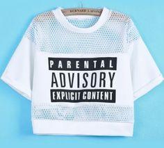 'parental advisory explicit content' fileli s/m t-shirt
