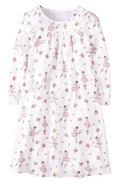 Mini Boden Print Cotton Nightie (Little Girls   Big Girls)  8af6f39de