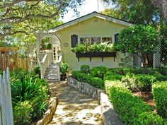 Golden Charming Cottage in Carmel-by-the-Sea - Sotheby's International Realty. This is on my list of 10 cottage homes with curb appeal