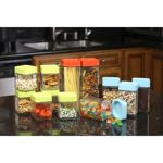 "Glasslock ""Stackable"" Square Block Canister 24-pc Assortment Set from Costco, Item # 901881 $44.99 thru 08/31/14."