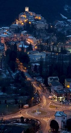 Arrone, one of the most beautiful villages in Italy, Umbria, Italy