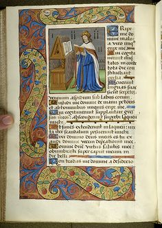 Psalter, MS M.934 fol. 200v - Images from Medieval and Renaissance Manuscripts - The Morgan Library & Museum