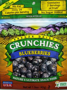 Crunchies: Blueberries Crunchies. http://affordablegrocery.com