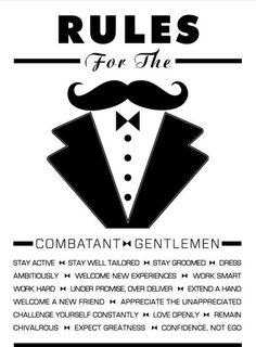 Combatant >-<Gentleman☆
