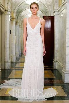 Victoria Kyriakides Wedding Dresses - Spring 2016 - Bridal Runway Shows - Brides.com | Brides.com