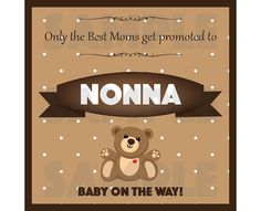 Pregnancy Announcement Front/Back Wine Label by OhBoyLoveItDigital