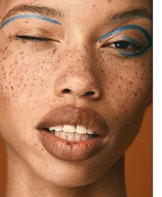 a person wearing bright orange eyeshadow c orange pinterest rh pinterest com