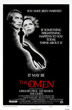 """""""The Omen"""" (USA) - a film by Richard Donner."""