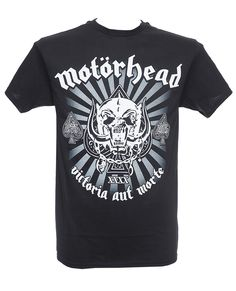 Motörhead - 40th Anniversary Logo Heavy Metal Fashion, Metal Shirts, Anniversary Logo, Menswear, My Style, Mens Tops, How To Wear, Clothes, Outfits