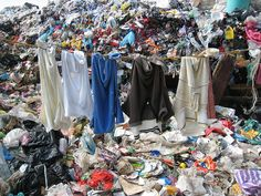 Every year heaps of textiles are thrown out and end up in landfill. As much as 95% of these clothes could be used again; re-worn, reused or recycled - depending on the state of the garment.