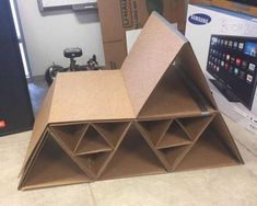 Recycling Cardboard for Unique