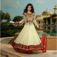 Looking to buy Anarkali online? ✓ Buy the latest designer Anarkali suits at Lashkaraa, with a variety of long Anarkali suits, party wear & Anarkali dresses! Indian Bridal Sarees, Indian Lehenga, Pakistani Dresses, Indian Dresses, Indian Outfits, Eid Dresses, Long Dresses, Pretty Dresses, Wedding Dresses