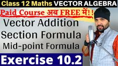 In this video I am discussing about Vector Addition, Triangle Law of Vector Addition, Parallelogram Law of Vector addition, distance formula, sections formul. Cbse Class 12 Maths, 12th Maths, Math Vector, Home Learning, Direction, Math Teacher, Study Notes, Algebra, Self Development