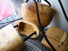 Wooden bag art