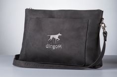 Little handbag from mat leather with long handle clutch by DingoM Leather Hobo Bags, Small Leather Bag, Black Leather Crossbody Bag, Black Clutch, Small Crossbody Bag, Occasion Bags, Small Bags, Briefcase, Evening Bags