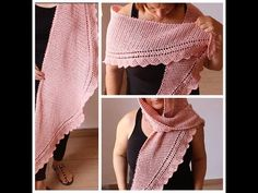 Tutorial Chal muy Fácil Punto Calado Ganchillo | Crochet - YouTube