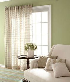 Curtains over sliding glass door held up with curtain clips something more sheer to cover the sliding door so it doesnt block out planetlyrics Images