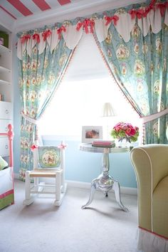 ceiling and window treatments