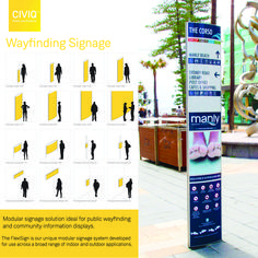 Robust and highly economical the CIVIQ FlexiSign modular convex sign system, has been specified across Australia for over 25 years by schools, councils, facility managers and public transport authorities. Wayfinding Signage, Signage Design, Manly Beach Sydney, Sign System, Facility Management, Public Transport, Schools, Transportation, Australia