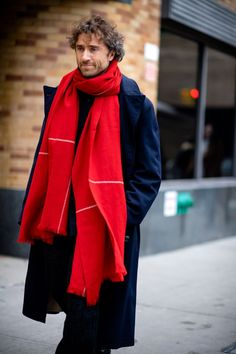 The best-dressed men on the streets of New York for the Autumn Winter 2017 women's shows