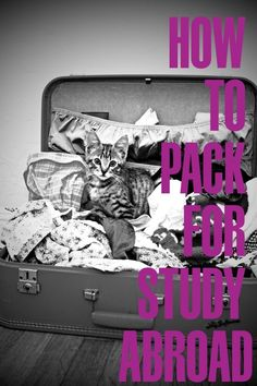 Check out ISA's new video! :60 on study abroad: How to Pack For Her
