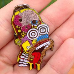 #Repost @lukewelz  Third Eye Homer is in! Link in my bio! Only $12. #Simpsons #pins #homer #art #pin #lapelpin #pinnation #hatpin #trippy #artwork #original #beautiful    (Posted by https://bbllowwnn.com/) Tap the photo for purchase info. Follow @bbllowwnn on Instagram for more great pins!