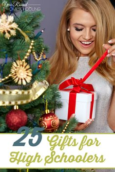 25 Gifts for High Schoolers -