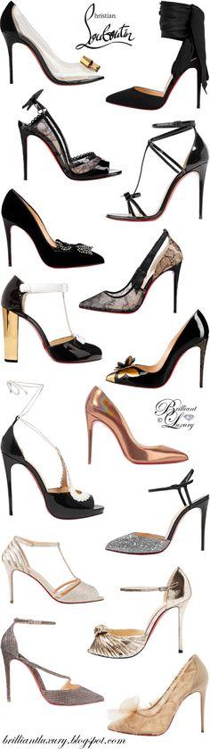 18a913fd Brilliant Luxury ♢ Christian Louboutin best evening shoes Ropa De Moda,  Moda Para Mujer,