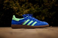 super popular b9bb4 3002d adidas Originals Spezial True Blue  Green Zest Metallic Gold Adidas  Spezial, New Trainers,