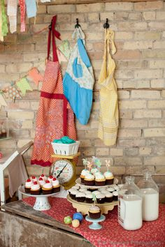 The Frosted Petticoat: Seven Springtime Dessert Tables