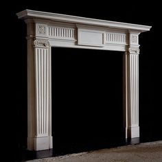 Neo classical design in Portland ,fireplace mantel by Paul spencer.