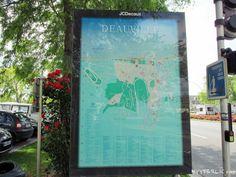 Sightseeing Walk: Deauville (Calvados, Frankreich)