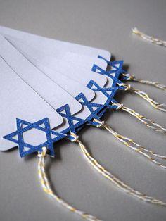 Items similar to Jewish gifts: Star of David gift tags Hanukkah Crafts, Jewish Crafts, Hanukkah Decorations, Hannukah, Happy Hanukkah, Hanukkah Traditions, Star Gift, Star Of David, Blue Glitter