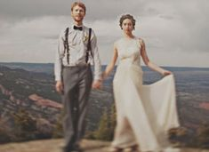 Real Weddings: On Top of a Mountain on Etsy
