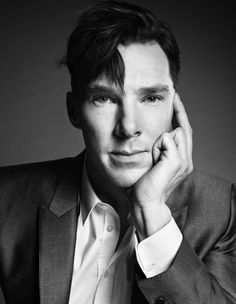 Actor Benedict Cumberbatch photographed at TIME, New York, Oct. 11,2013 by Paola Kudacki