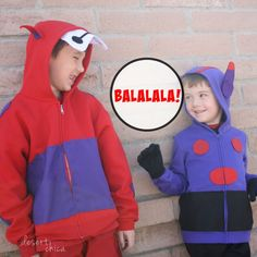 Baymax and Hiro Costumes - perfect father daughter costume idea for this Halloween