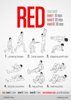 Red Workout: Adding on top off my everyday gym routine !