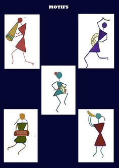 warli painting pinterest - Google Search