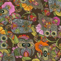 Valentina Ramos - Owls Nest - Owls Nest in Brown